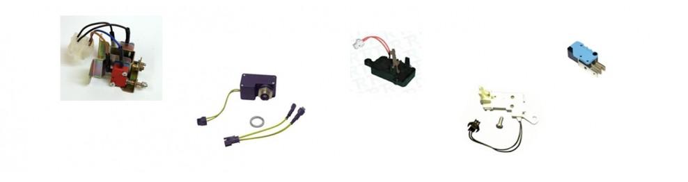 Cajas de micros Interruptores